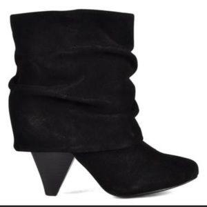 Steve Madden Carlson black suede boots sz 8.5
